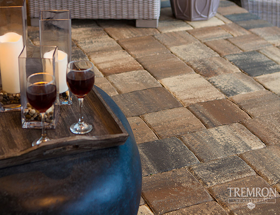 Pavers - Tremron - outdoor walkway - landscape supply in mobile